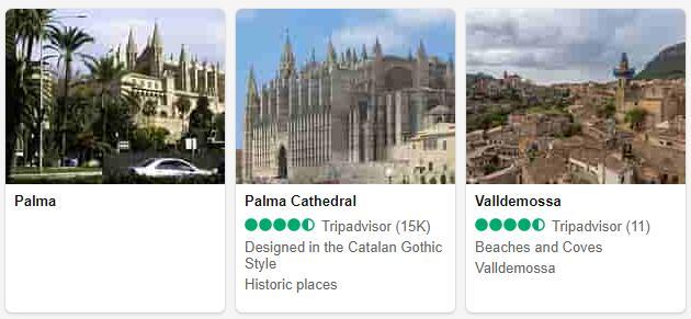 Mallorca Attractions and Tourist