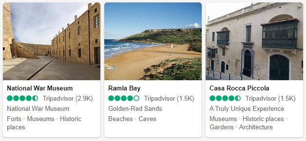 Malta Attractions 2