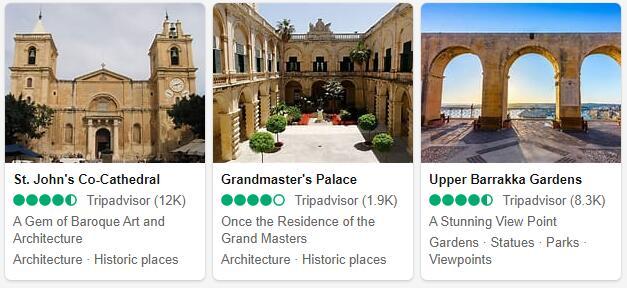 Malta Attractions and Tourist