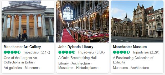 Manchester Attractions and Tourist