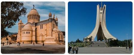 Algeria Algiers Places to Visit