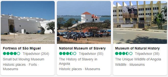 Angola Luanda Places to Visit