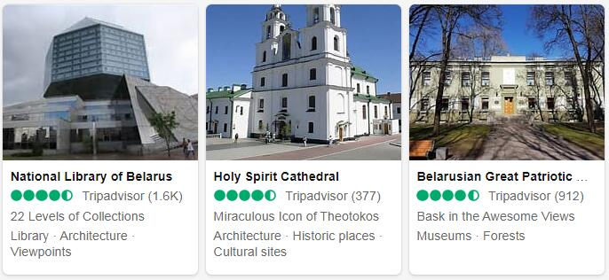 Belarus Minsk Places to Visit