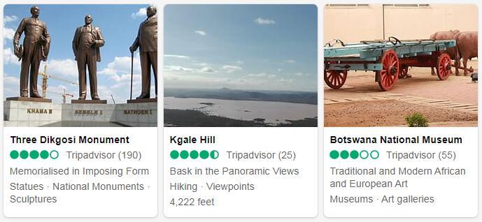 Botswana Gaborone Places to Visit