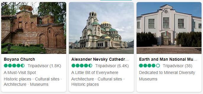 Bulgaria Sofia Places to Visit