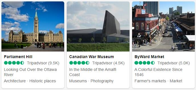 Canada Ottawa Places to Visit