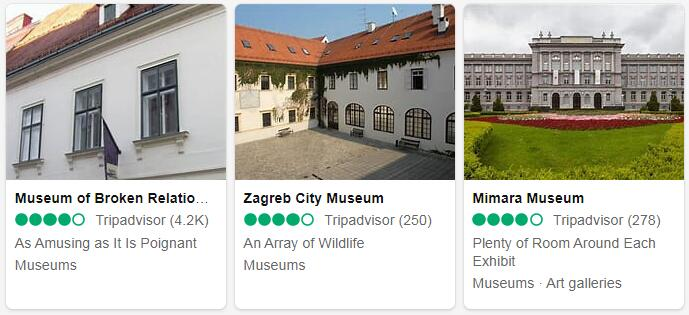 Croatia Zagreb Places to Visit