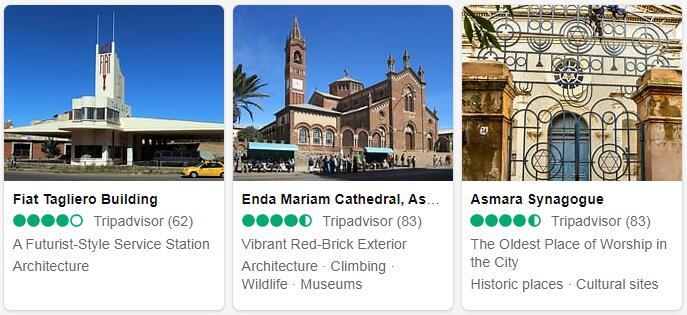 Eritrea Asmara Places to Visit