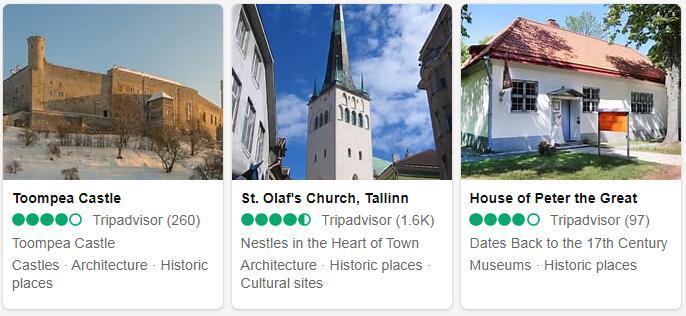Estonia Tallinn Places to Visit