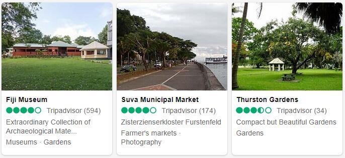 Fiji Suva Places to Visit