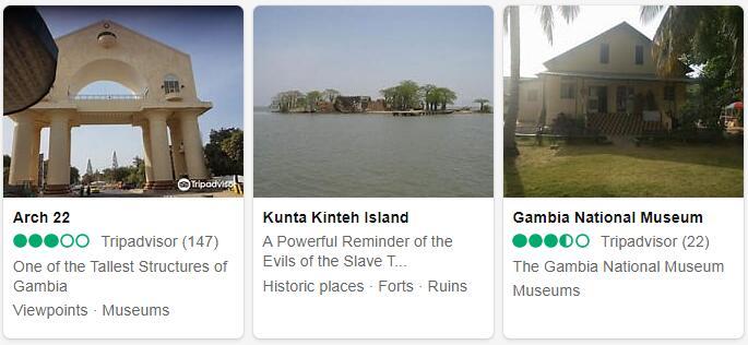 Gambia Banjul Places to Visit
