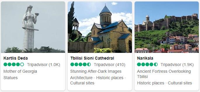 Georgia Tbilisi Places to Visit