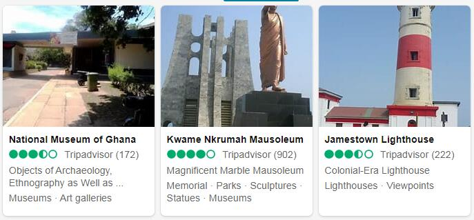 Ghana Accra Places to Visit