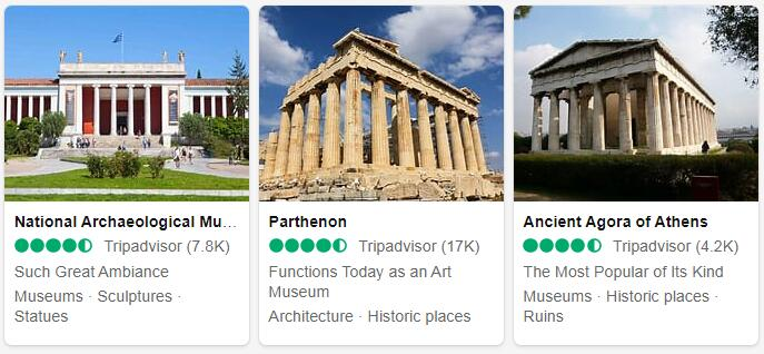 Greece Athens Places to Visit