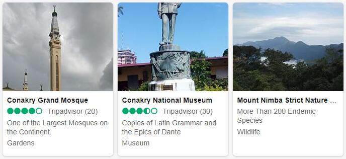 Guinea Conakry Places to Visit