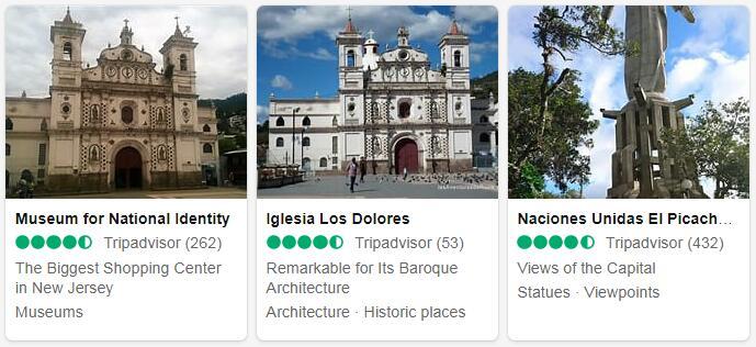 Honduras Tegucigalpa Places to Visit