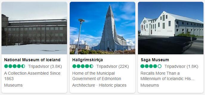 Iceland Reykjavik Places to Visit