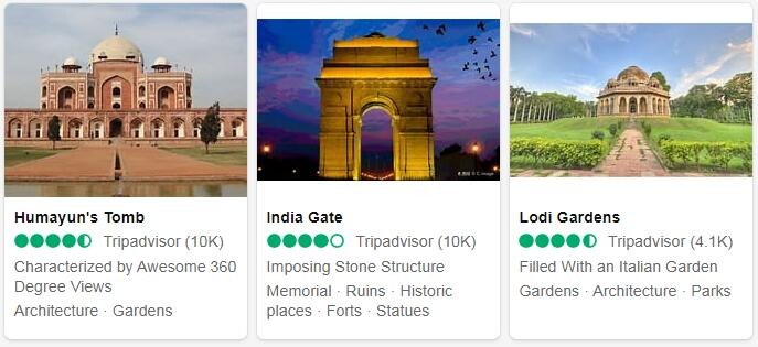 India New Delhi Places to Visit