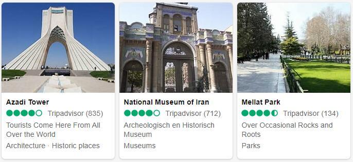 Iran Tehran Places to Visit