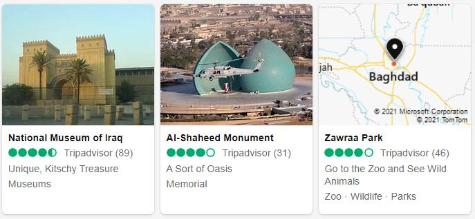 Iraq Baghdad Places to Visit