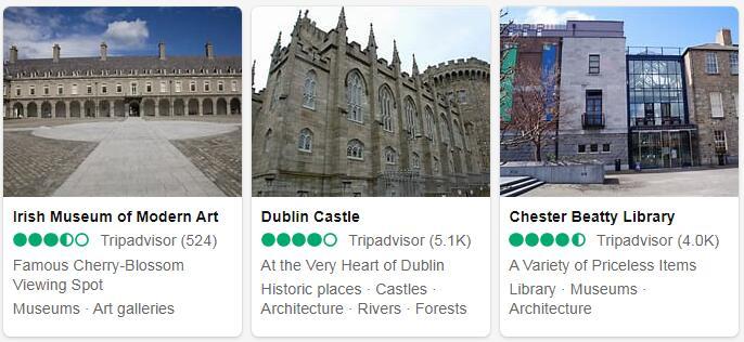Ireland Dublin Places to Visit