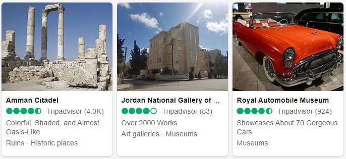 Jordan Amman Places to Visit
