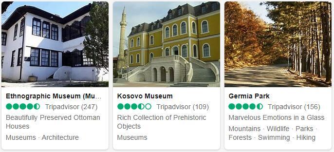 Kosovo Pristina Places to Visit