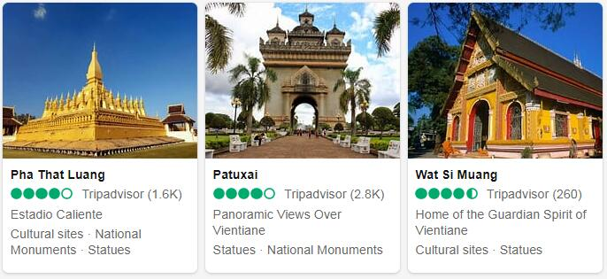 Laos Vientiane Places to Visit