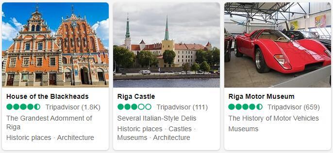 Latvia Riga Places to Visit