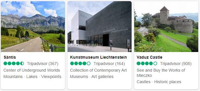 Liechtenstein Vaduz Places to Visit