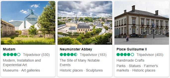 Luxembourg Luxembourg Places to Visit
