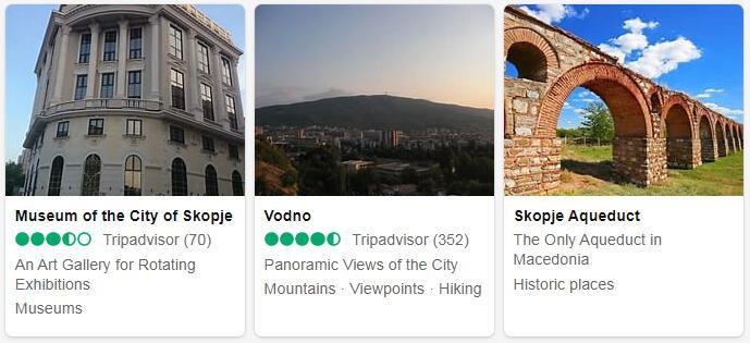 Macedonia Skopje Places to Visit