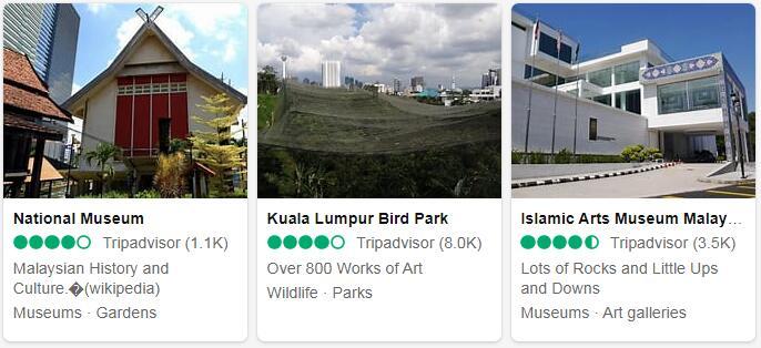 Malaysia Kuala Lumpur Places to Visit
