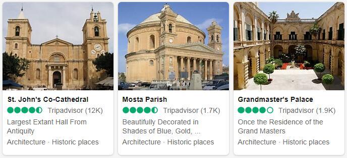 Malta Valletta Places to Visit