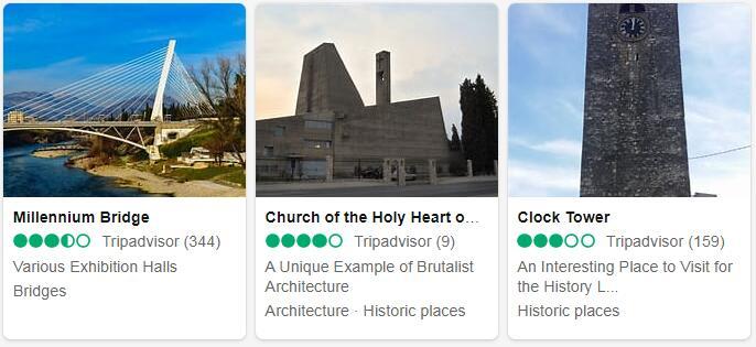 Montenegro Podgorica Places to Visit