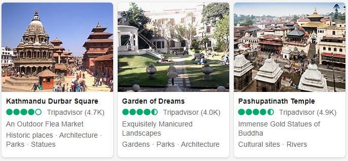 Nepal Kathmandu Places to Visit