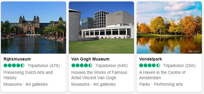 Netherlands Amsterdam Places to Visit