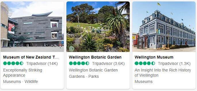 New Zealand Wellington Places to Visit