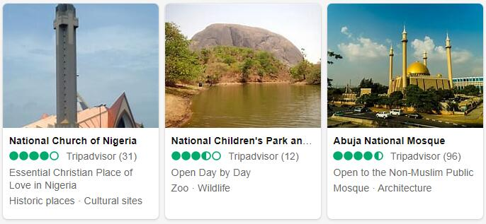 Nigeria Abuja Places to Visit