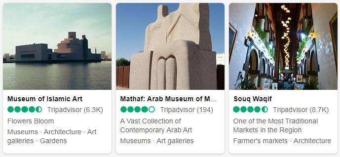 Qatar Doha Places to Visit