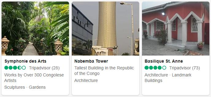 Republic of the Congo Brazzaville Places to Visit