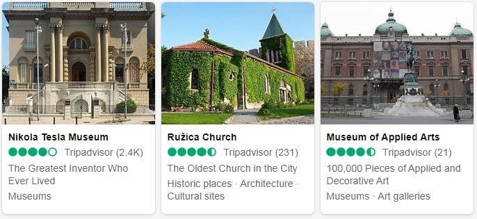 Serbia Belgrade Places to Visit