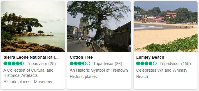 Sierra Leone Freetown Places to Visit