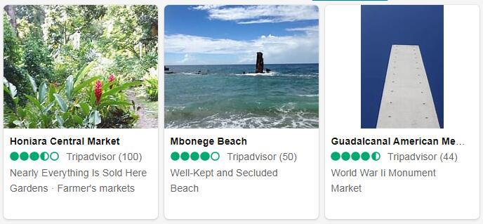 Solomon Islands Honiara Places to Visit