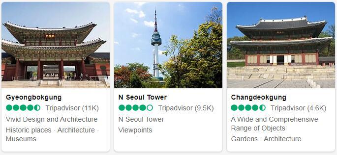 South Korea Seoul Places to Visit