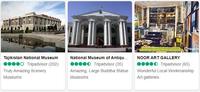 Tajikistan Dushanbe Places to Visit