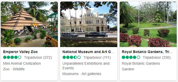 Trinidad and Tobago Port of Spain Places to Visit