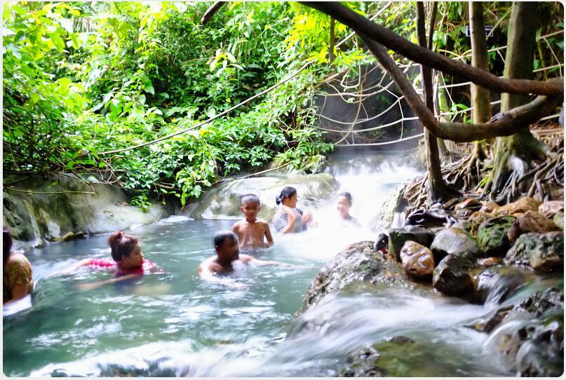 hot spring in Khao Phra-Bang Kram area