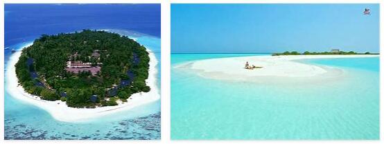 Royal Island on Baa Atoll, Maldives
